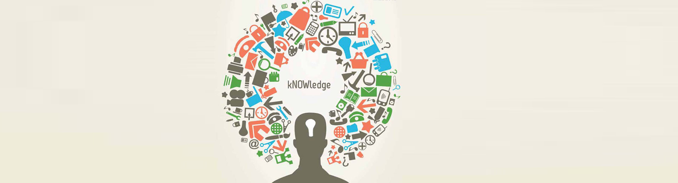 Metamorphose information to knowledge when e-learning
